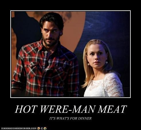 HOT WERE-MAN MEAT