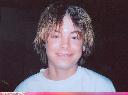 actor,bad hair,ROFL Photo of the Day,young,zac efron