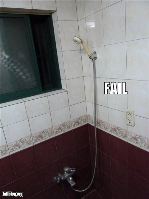 Electric Outlet Location Fail