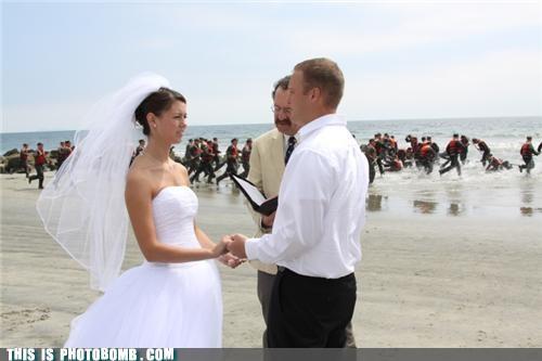 Navy SEALs Bomb Coronado Beach Wedding
