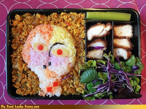 art,bento,bento box,cheese,creative lunch,painting,paul klee