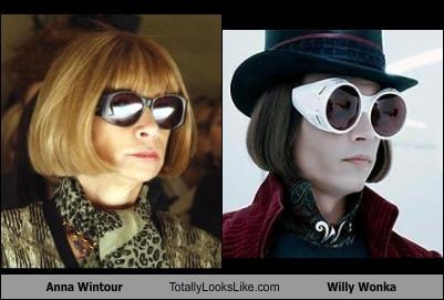 Anna Wintour Totally Looks Like Willy Wonka