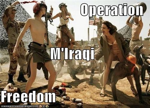 Operation M'Iraqi Freedom