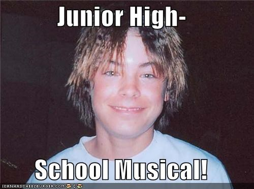 Junior High-  School Musical!