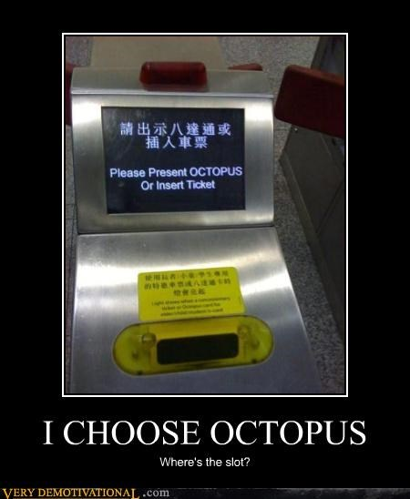 animals,impossible,Japan,octopus,public transportation,ticket,wtf