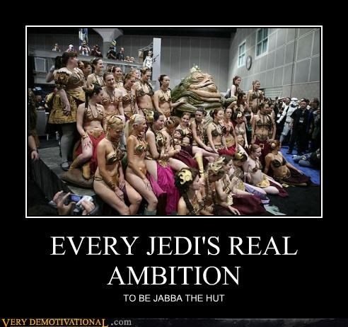 Jabba the Hut,Mean People,Princess Leia,return of the jedi,slave biknis,star wars,suddenly