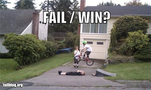 bikes,children,daredevil,fail or win,failboat,g rated,neighborhood,poll,stunts