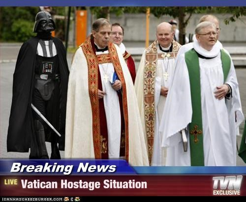 Breaking News - Vatican Hostage Situation
