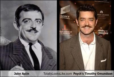 John Astin Totally Looks Like Psych's Timothy Omundson