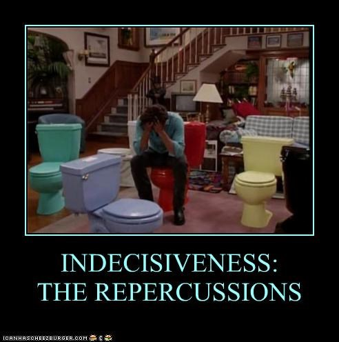 INDECISIVENESS: THE REPERCUSSIONS