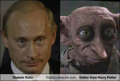 Vladmir Putin Totally Looks Like Dobby from Harry Potter