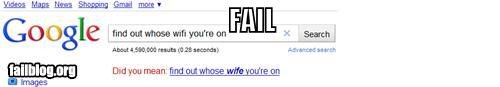 AutoComplete Me: WiFi Correction FAIL