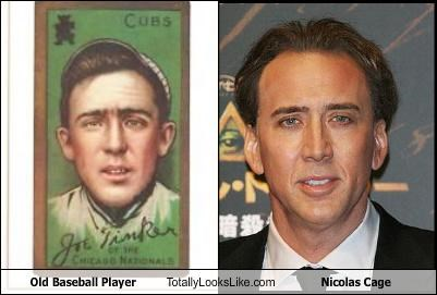 Old Baseball Player Totally Looks Like Nicolas Cage