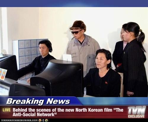 "Breaking News - Behind the scenes of the new North Korean film ""The Anti-Social Network"""