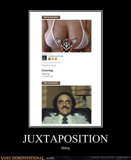 boobs,collage,funny eyes,hilarious,juxtaposition,mario,senor gif,the internet