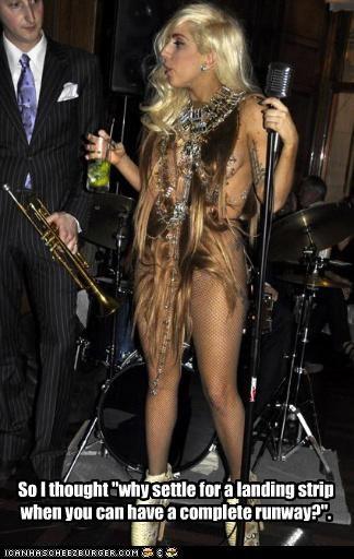 Lady Gaga pushes pioneers new bikini wax style