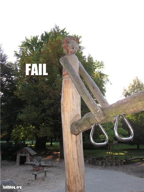 Children's Playground Fail