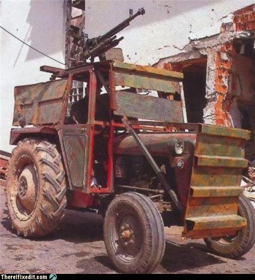 conversion,gun,tractor,war machine