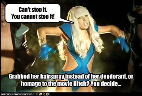 Gaga vs Hitch?