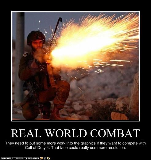 REAL WORLD COMBAT