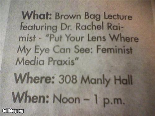 Feminist Location Fail