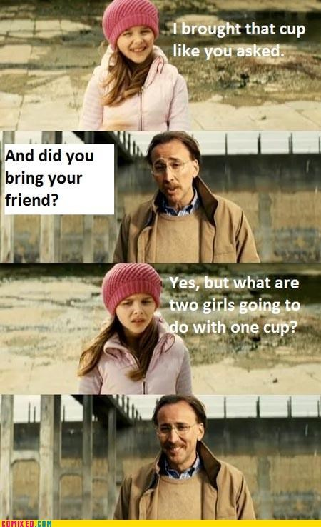 2 girls one cup,creepy,girl,nicholas cage,the internets,unsee