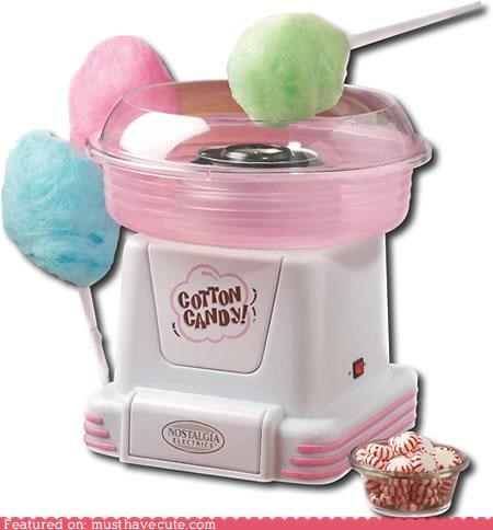 Make Your Own Cotton Candy!!!