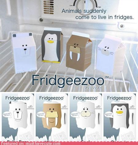 Fridge Animals Help You Save Energy