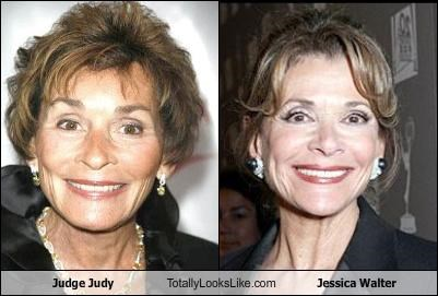 Judge Judy Totally Looks Like Jessica Walter