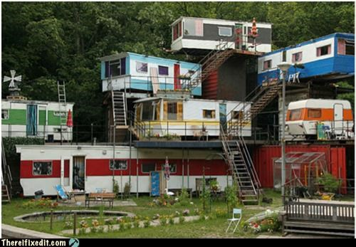 conversion,fake city,home away from home,mobile home
