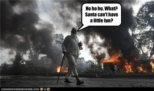 Santa Just Wants Some Fun