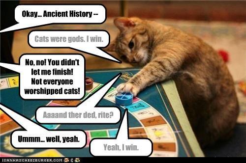 Cat history - FTW
