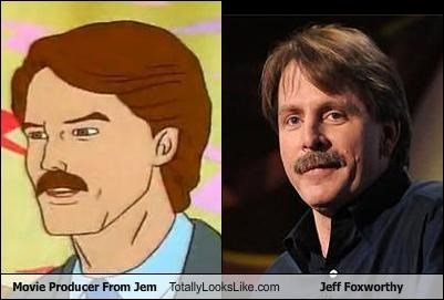 Movie Producer From Jem Totally Looks Like Jeff Foxworthy