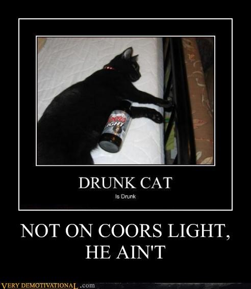 Coors, Doesn't Even Get Cats Drunk