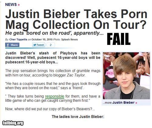 celeb,failboat,justin bieber,magazines,Music,on tour,pr0n,Probably bad News,teenagers