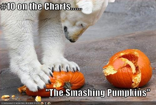 "#10 on the Charts......  ""The Smashing Pumpkins"""