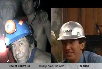 One of Chile's 33 Totally Looks Like Tim Allen