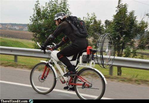 alternate fuel,bicycle,bike,fan,wind power