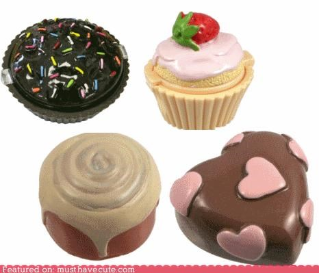 beauty,lip gloss,miniature,pastries,sweets
