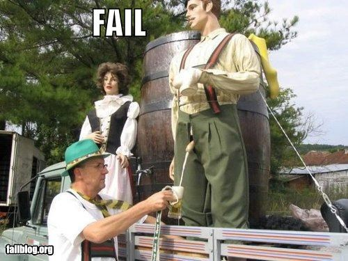 Things That Are Doing It: Keg FAIL