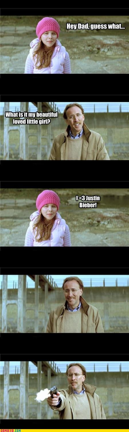 From the Movies,guns,i am disappoint,justin bieber,nicholas cage