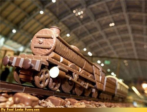candy,chocolate,cookies,display,Sweet Treats,sweets,train