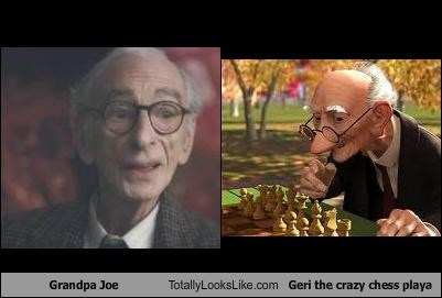 Grandpa Joe Totally Looks Like Geri the crazy chess playa
