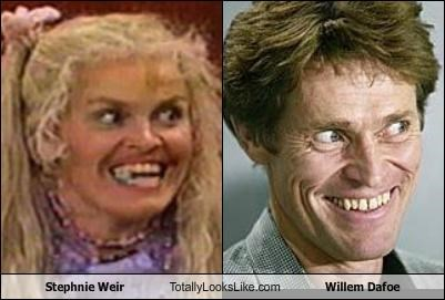 Stephnie Weir Totally Looks Like Willem Dafoe