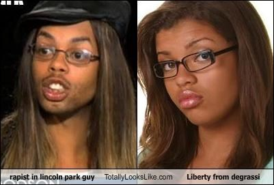 rapist in lincoln park guy Totally Looks Like Liberty from degrassi