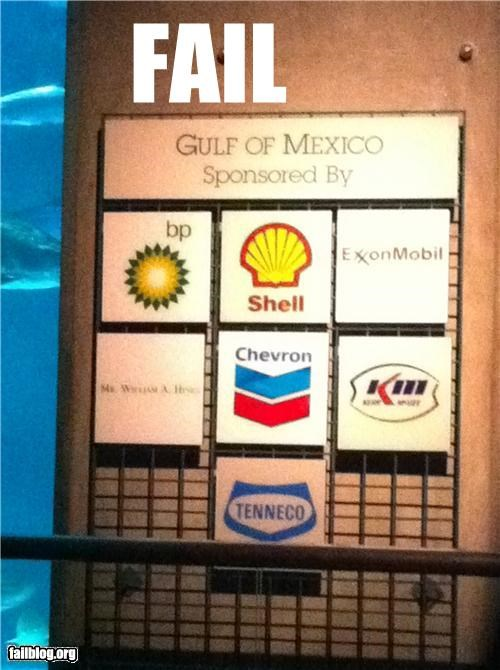 Gulf of Mexico Sponsorship Fail