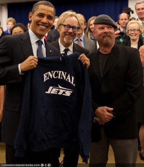 barack obama,Democrat,mythbusters,news,president,TV