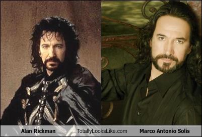 Alan Rickman Totally Looks Like Marco Antonio Solis