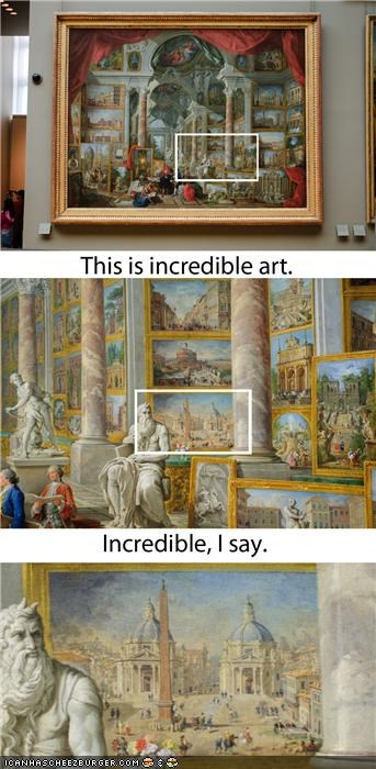 Yo Dawg, I Heard You Like Art...