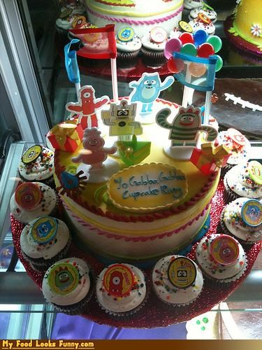 cake,cupcakes,kids,stoners,TV,yo gabba gabba